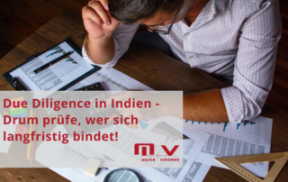 Due Diligence in Indien